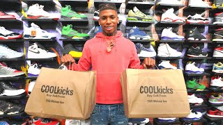 WE CAN'T BELIEVE NLE CHOPPA DID THIS AT COOLKICKS