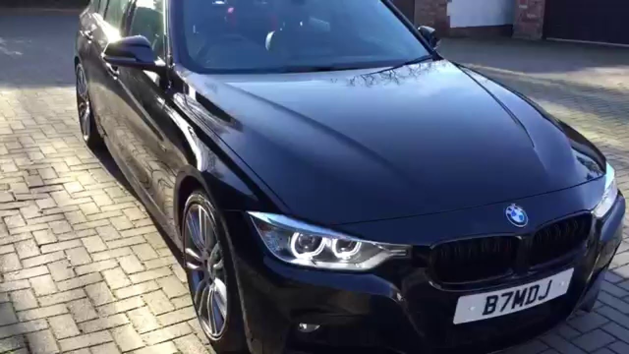 a walk around of my 2015 bmw f30 3 series 330d m sport with engine sound youtube. Black Bedroom Furniture Sets. Home Design Ideas