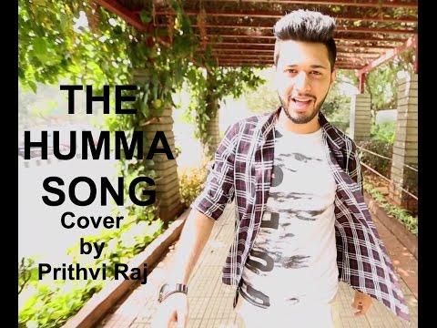 The Humma Song - OK Jaanu | Cover by Prithvi Raj | Lyrical Video | A.R