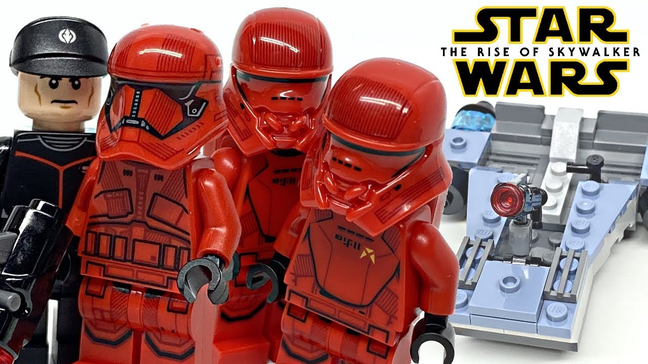 Lego Star Wars Sith Trooper Battle Pack Review 2020 Set 75266 Youtube