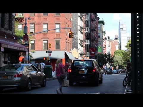 Trip To SoHo in NYC (camera video test - Canon 650D/T4i) Color