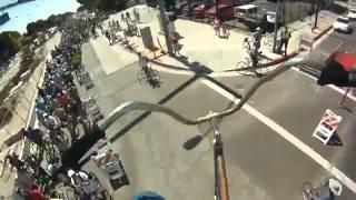 Самый высокий в мире велосипед  это весело(весёлый сайт, http://zapilili.ru , где живут Юмор, фото, смешное видео, прикольное видео, прикольные картинки,смешные..., 2013-04-25T16:39:53.000Z)