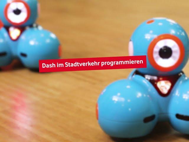 Dash - Den Roboter im Stadtverkehr programmieren