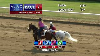 Ajax Downs 06 17 2018 Race 7