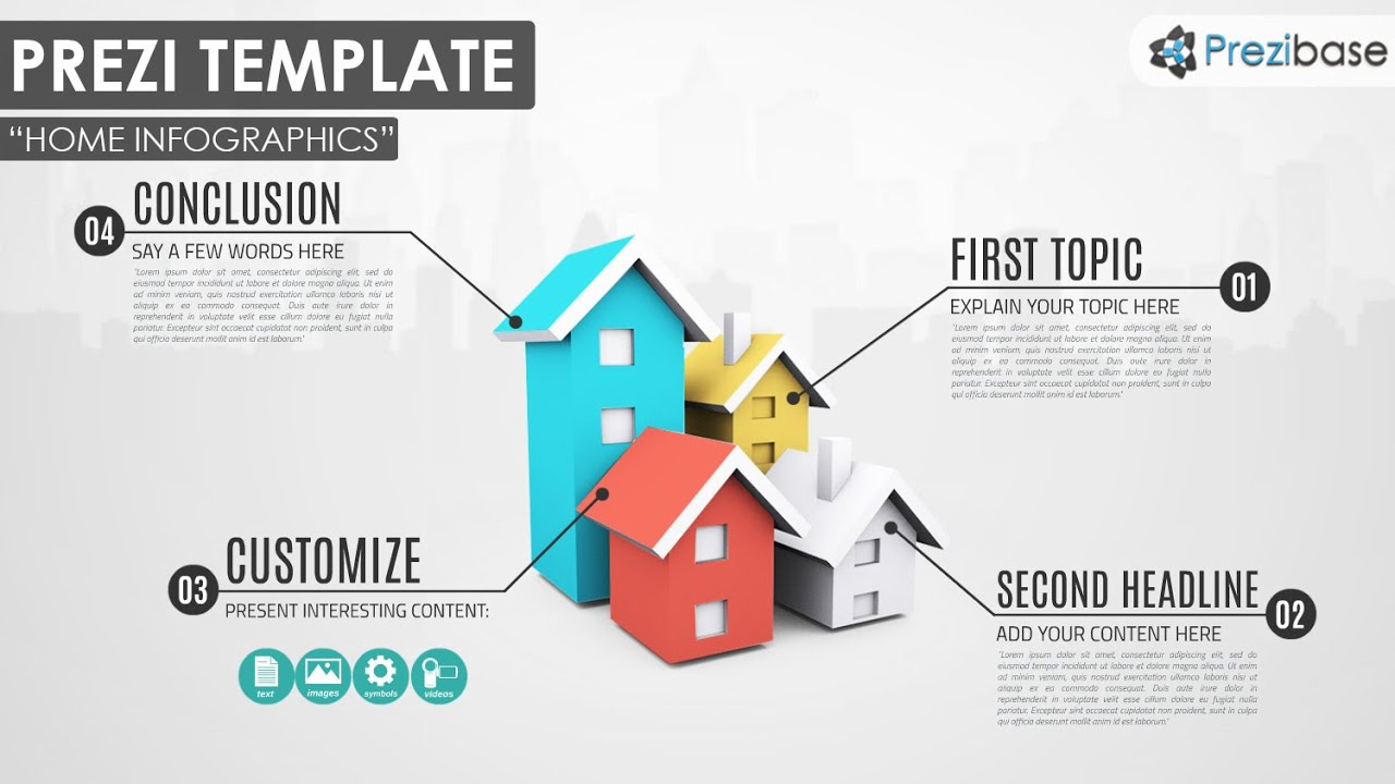 House Infographics - Prezi Template - YouTube