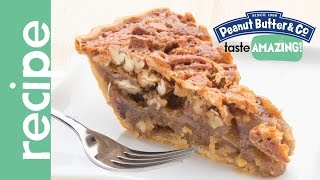 Maple Peanut Butter Pecan Pie Recipe