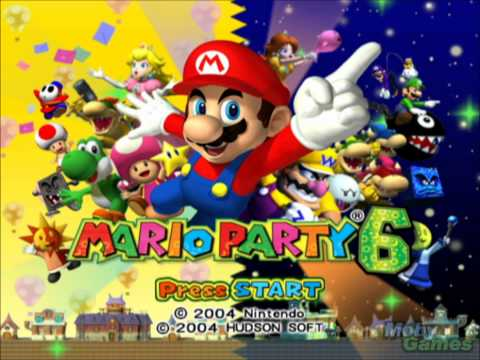 Mario Party Title Screen Themes (1 - 9)