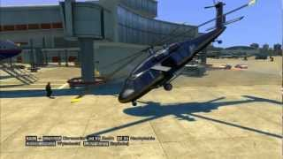 GTA IV: Helicopter Kills in Slow Motion - Bloody Airscrew
