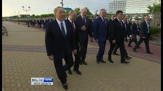Назарбаев предложил соединить Черное и Каспийское моря каналом