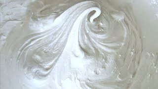 How to make MARSHMALLOW FLUFF - SPREAD
