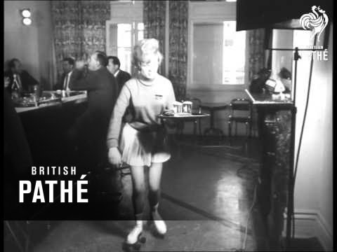 Speedy Service: Barmaids On Roller Skates! (1962)