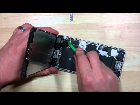 iphone-6-plus-screen-replacement-disassembly---front-facing-camera-ear-speaker-proximity