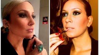 Maquiagem inspirada na Claudia Leitte - The Voice Brasil 03 10 2013 por Renata Nicolau