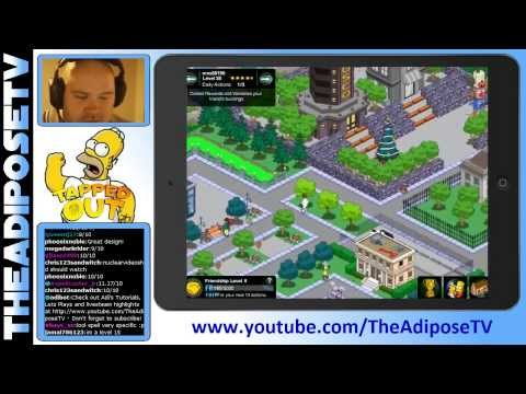 Simpsons Tapped Out  Springfield Forest  City Design
