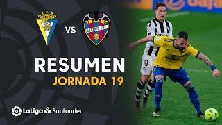 Resumen de Cádiz CF vs Levante UD (2-2)