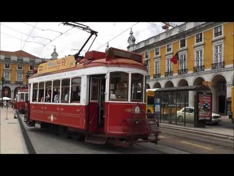 Lisboa: Praça do Comércio e Rua Augusta
