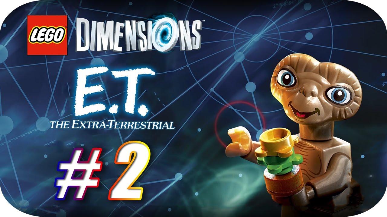 LEGO Dimensions [Año 2] Fun Pack E.T. El Extra-Terestre [Parte #2 ...