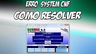 USB UTIL Erro System CNF - Como Resolver