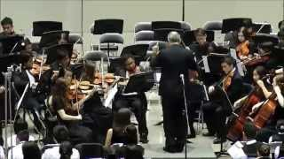 Newbold: Orion and the Scorpion - Garland HS Orchestra (2014)