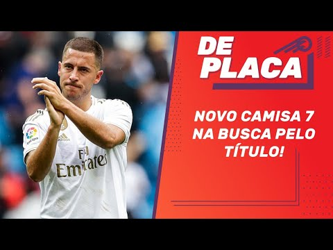 PSG x REAL MADRID pela Champions League e o empate do BARCELONA | De Placa ao vivo (18/09/2019)