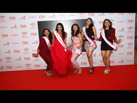 Miss India South 2018 winners visit the fbb store