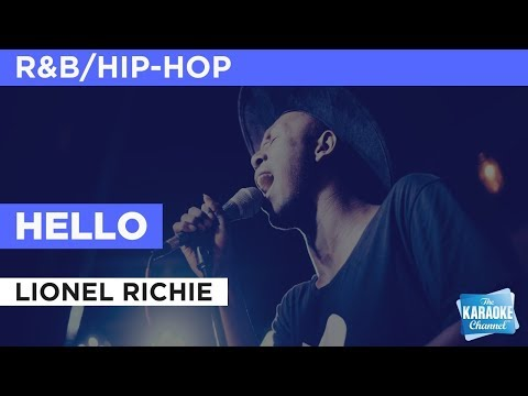 Hello in the style of Lionel Richie | Karaoke with Lyrics
