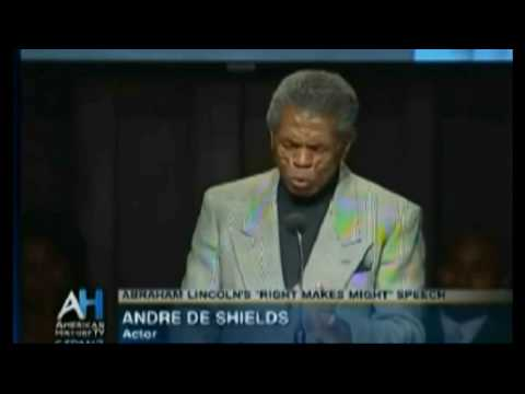 Lincoln Cooper Union Speech (5) - De Shields