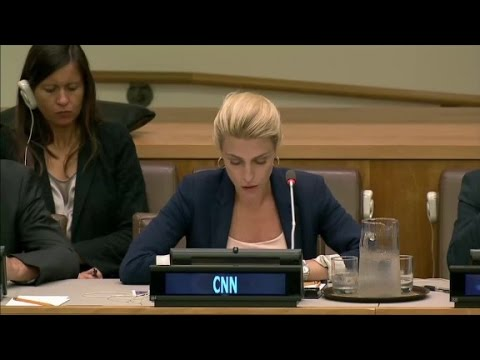 'This is Hell': Clarissa Ward addresses the U.N...