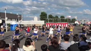 2016 08 12 160306 アモール豊岡ふれあい祭り 旭川北高校チアリーディング