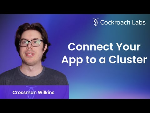 How to connect to CockroachCloud and Import Data