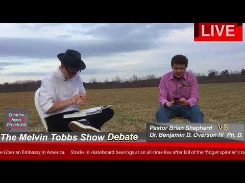 Creation News Broadcast - The Melvin Hobbs Show DEBATE