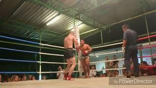 Nikita 64kg vs. One Thai guy 77kg Thai Boxing