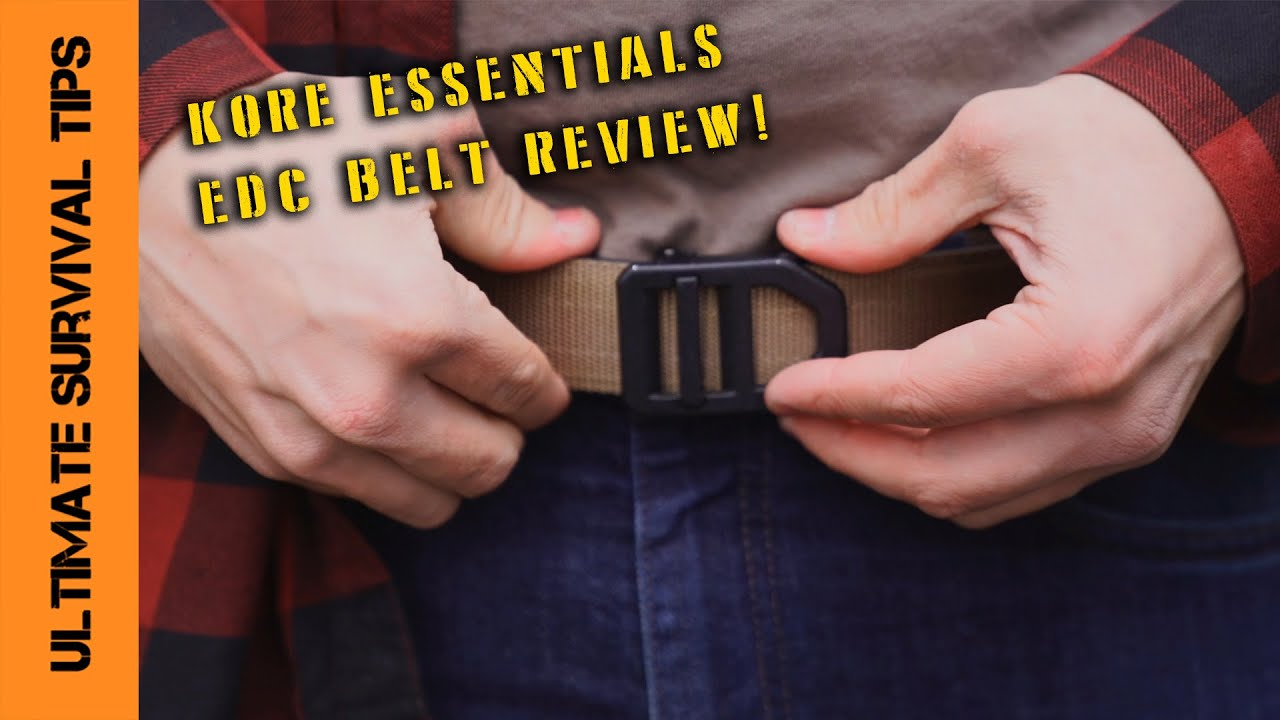 New Kore Essentials X5 Gun Belt Tactical Edc Demo And Comparison Youtube The kore essentials gun belt is a great looking concealed carry belt that you adjust to your size. new kore essentials x5 gun belt tactical edc demo and comparison