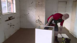 How To Install Base Cabinet - Diy At Bunnings