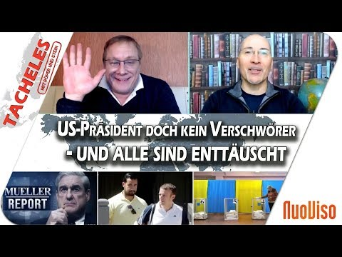 US-Präsident doch kein Verschwörer - und alle sind enttäuscht - TACHELES #2
