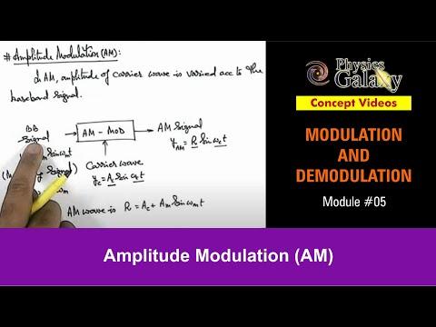 5. Class 12 Physics Lecture | Modulation | Amplitude Modulation (AM) | by Ashish Arora