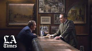 """""""The Irishman"""" review by Kenneth Turan and Justin Chang"""