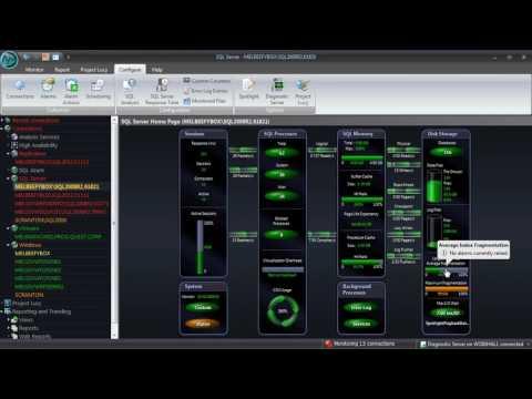 How To Monitor Index Fragmentation In Spotlight On SQL Server Enterprise