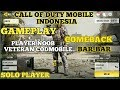 Gameplay cod mobile Indonesia player veteran  (solo player) Spek kentang