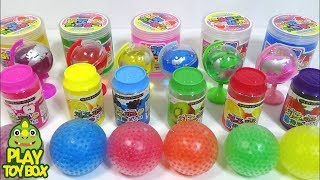 Combine All the Colors Soft Bucket Cheese Jelly Slime Clay Orbeez Surprise Toys