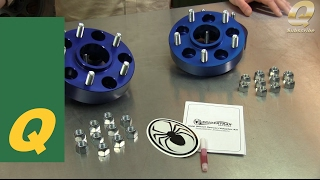 Spidertrax Wheel Spacers for Jeep Vehicles