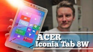 Обзор Acer Iconia Tab 8W - компактный крепыш на винде