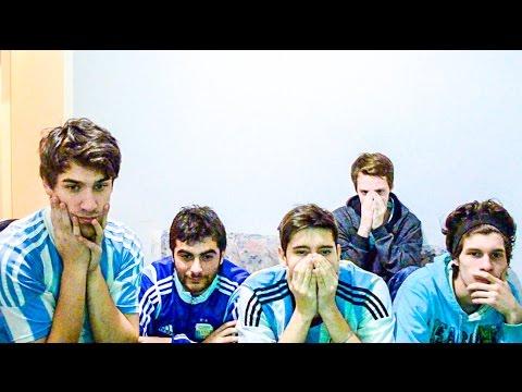 Argentina 0 (1) Chile 0 (4) | Final | Copa América 2015 | REACCIONES DE AMIGOS