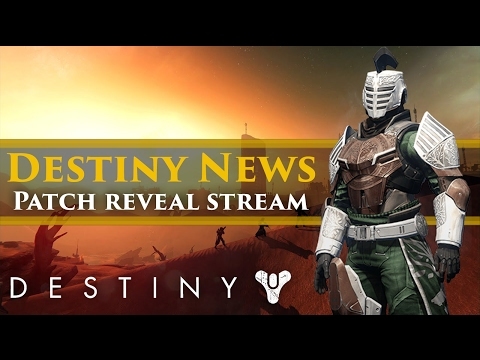 Destiny news - Investor call = Update News? Hotfix 2.5.0.2. Stream! DestinyCon Trademarked!