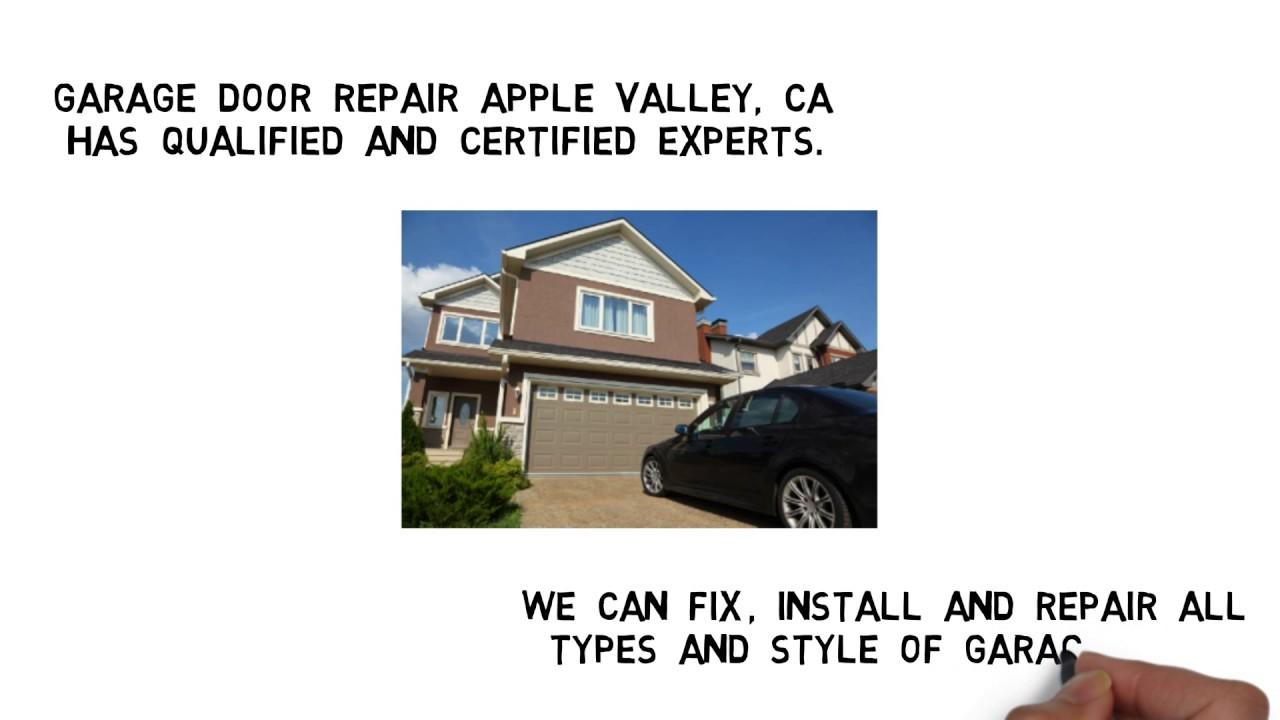 Garage Door Repair Apple Valley CA