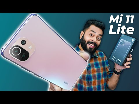 Mi 11 Lite Unboxing & First Impressions   Lite & Loaded?! ⚡ 6.81mm Thin, 90Hz AMOLED, 64MP & More