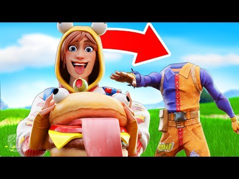 ONESIE EATS DURR BURGER!? *NEW SEASON 7* - A Fortnite Short Film