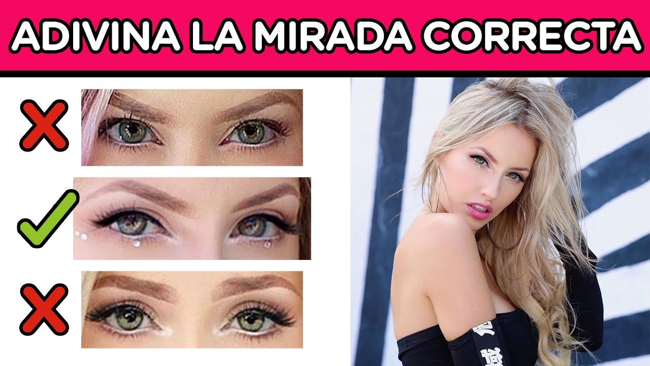ADIVINA LA MIRADA CORRECTA DEL YOUTUBER | EL JUEGO MAS DIVERTIDO | YOU OCIO
