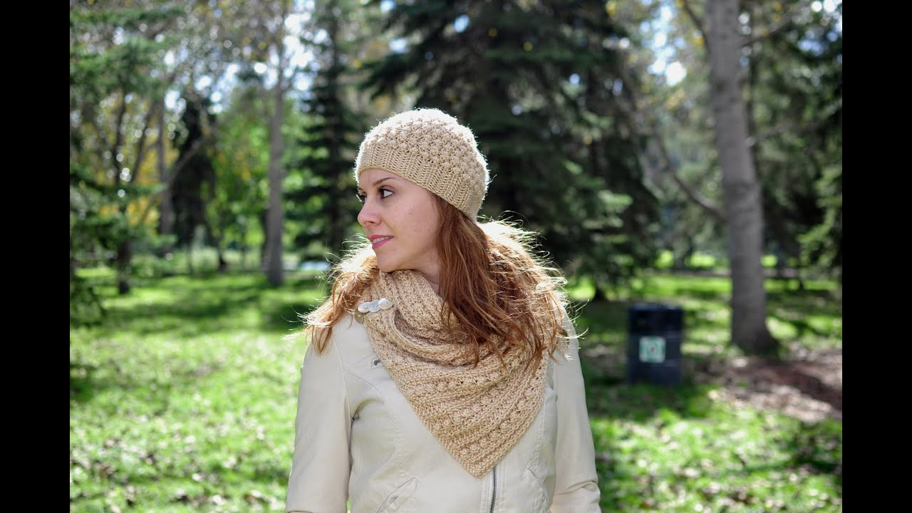 Beanie Hat Tutorial - Free Knitting Patterns - YouTube