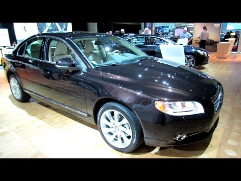 2012 Volvo S80 T6 AWD Exterior and Interior at 2012 Toronto Auto Show